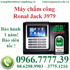 Máy chấm công Ronal Jack 3979