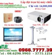 Trọn gói máy chiếu SONY VPL - DX 111 - chỉ với 14,000,000 FULL VAT