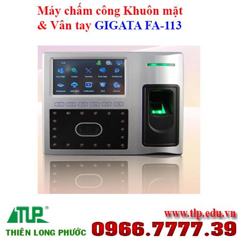 may-cham-cong-khuon-mat-va-van-tay-GIGATA FA-113