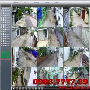 Lắp đặt camera an ninh khu phố
