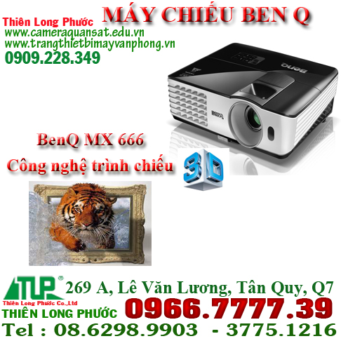 MAY CHIEU BEN Q MX 666