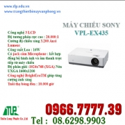 SONY VPL- EX435